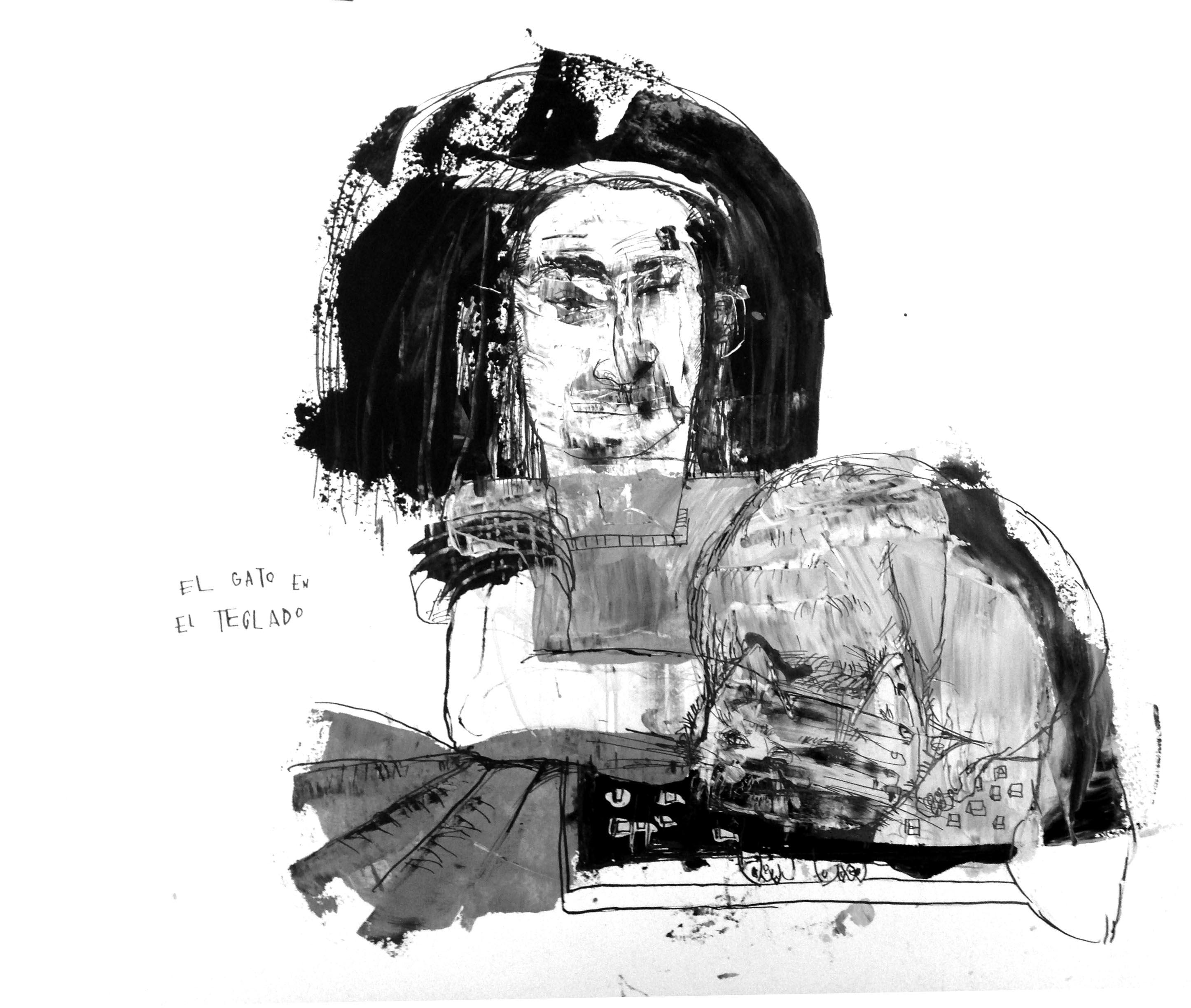 Gato en el teclado (2017) - Eulogia Merle