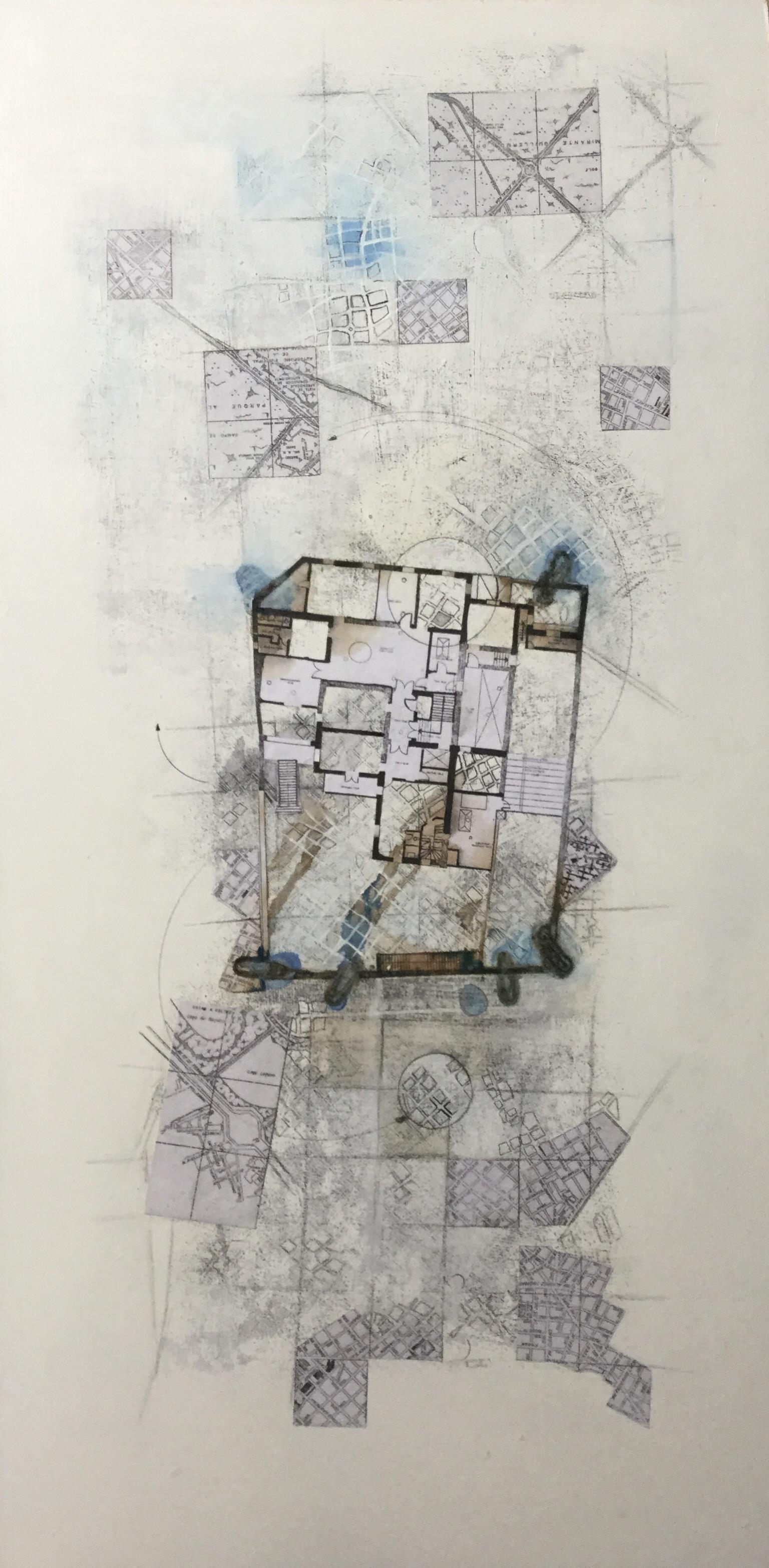 Mapa 5. Sería 'La nuda vida' (2019) - Fernanda Rege