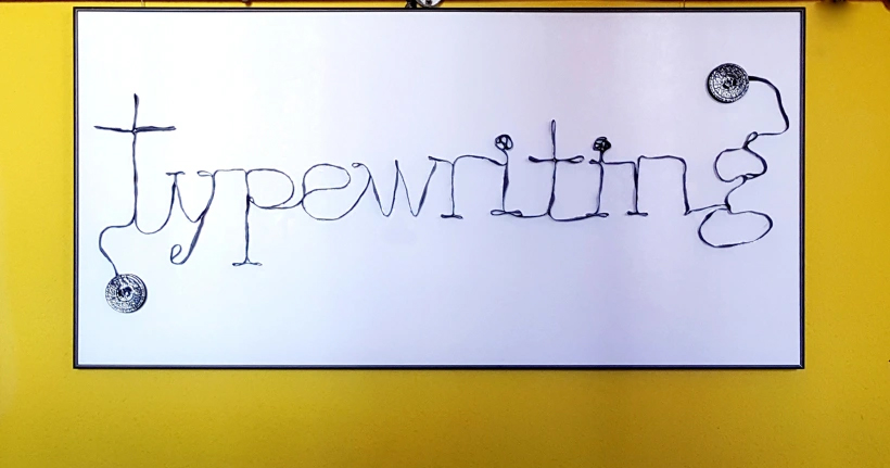 Typewritting (2017) - Sonia de Viana