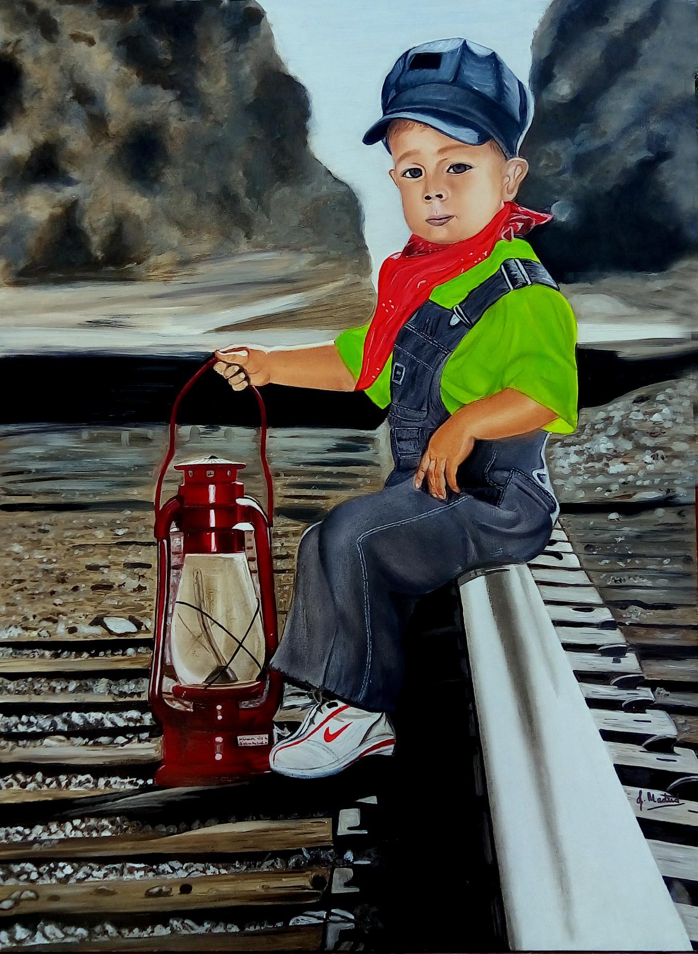 El jóven ferroviario (2016) - José María Madrid Sanz