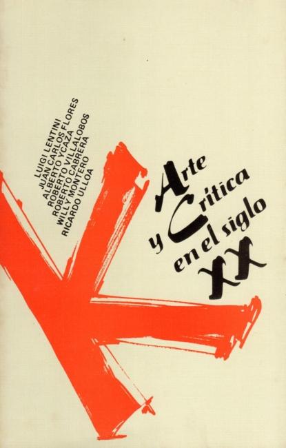 Arte y Crítica en el Siglo XX. Editorial EUNED. 1987