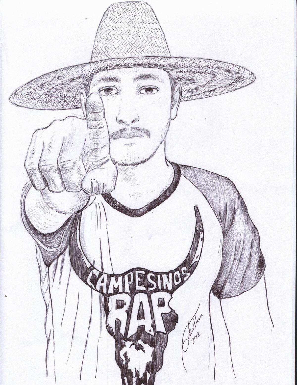 Retrato CampesinosRap (2018) - Gustavo José Flores Rojo - Gust.art
