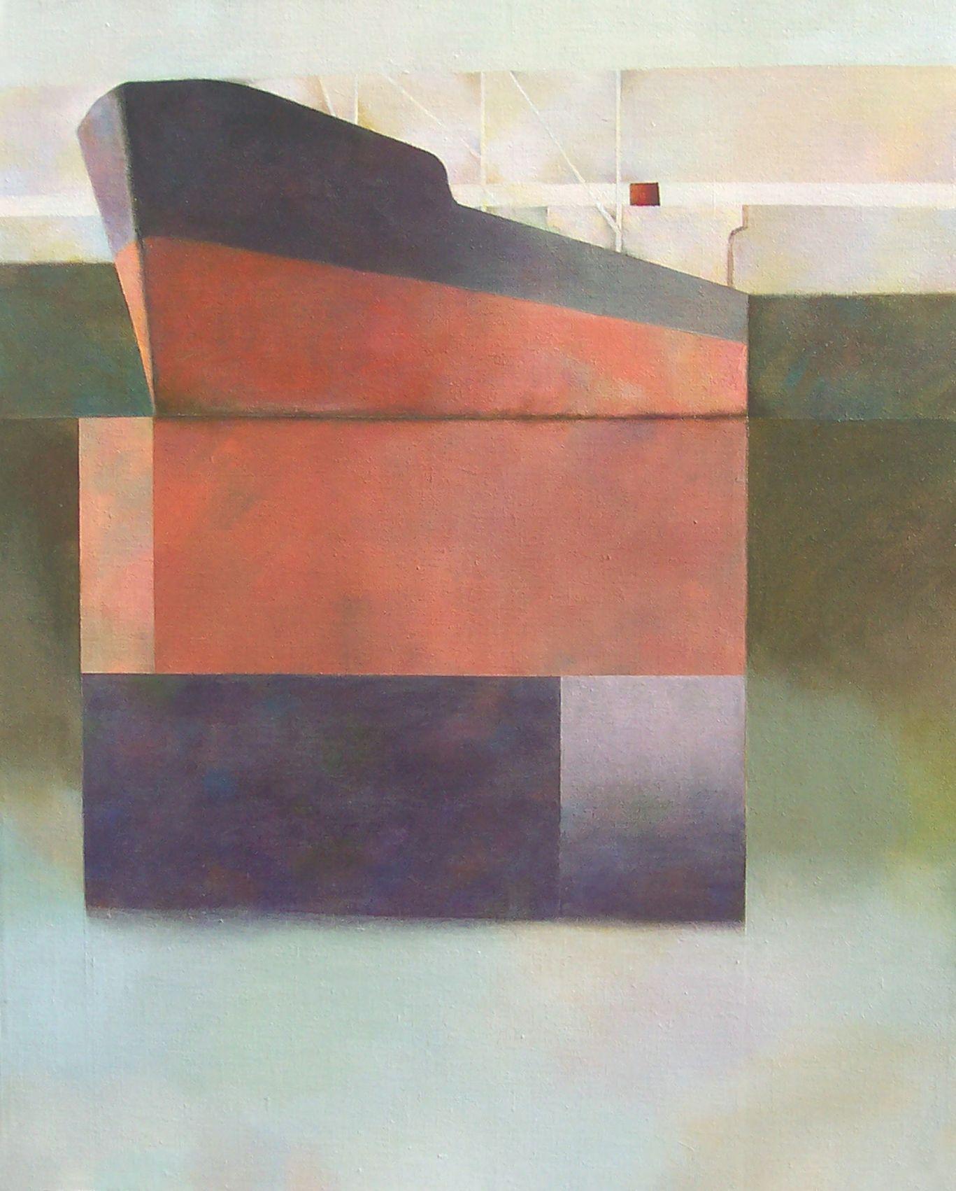 Al sur del mundo ,en los canales,  barco varado (1998) - Felipe Mercadal Borghetti