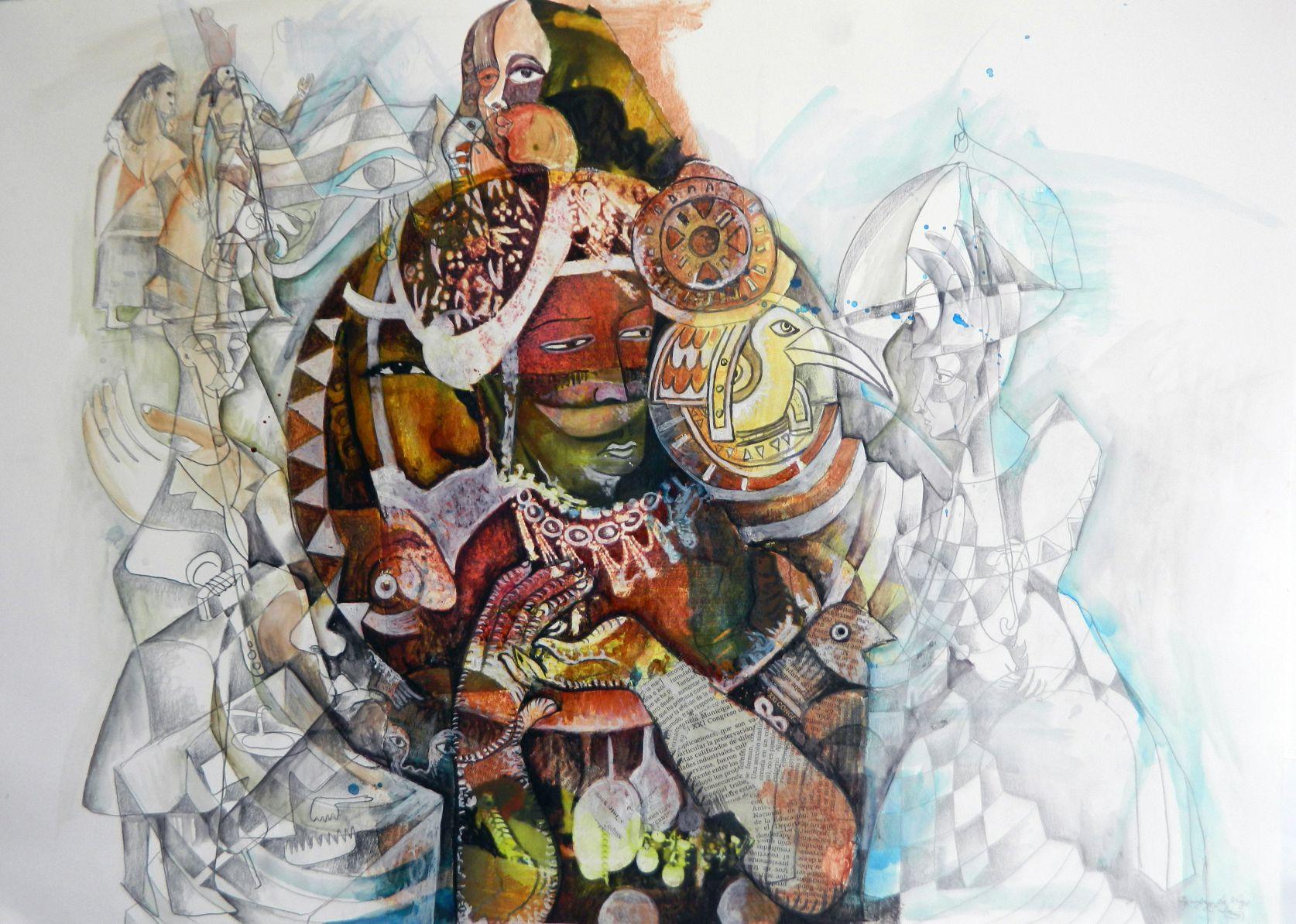 Equipaje de viaje. Serie Saramago, La Ceguera (2020) - Felipe Alarcón Echenique