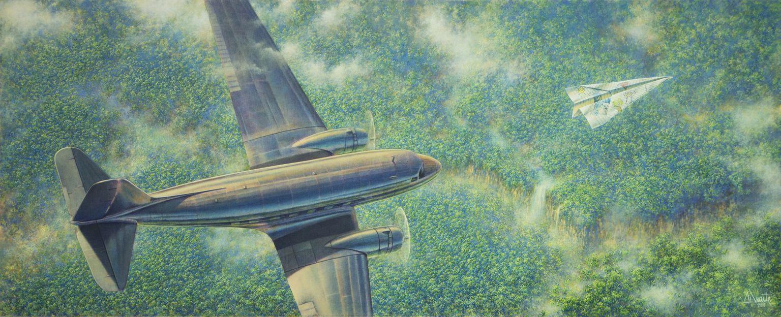 Volando por un sueño