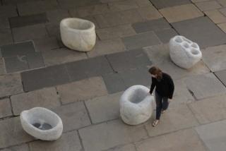 Sculpture, Soap Atone, ca. 2012. Manoel Macedo Arte. Solange Pessoa