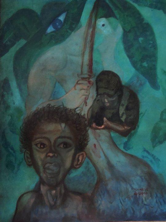 METAMORFOSIS HUMANA (2010) - Aracely Birmania Arévalo Córdova - Birmania