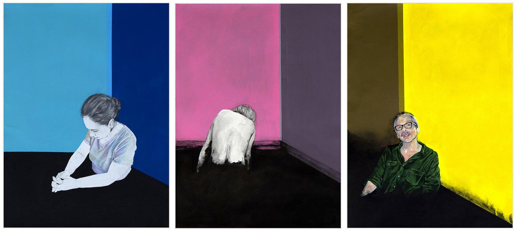 """Sustancia Nigra, el cuarto (de la serie """"Ensayo de un duelo"""") (2018) - Pamela Zubillaga"""