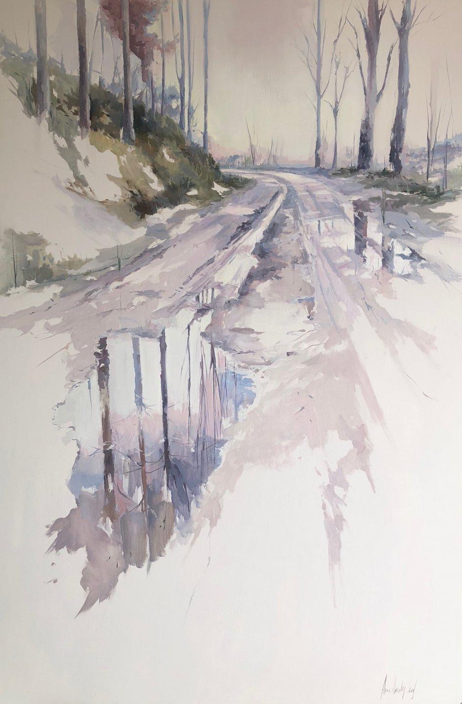camino lluvioso (2019) - Ana Sánchez Lucas
