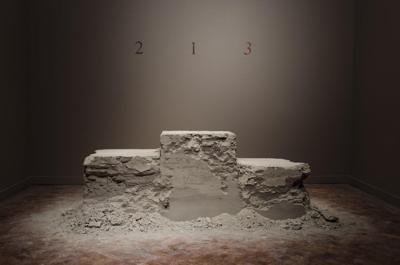 Podium for nobody (2010) - Lais Myrrha
