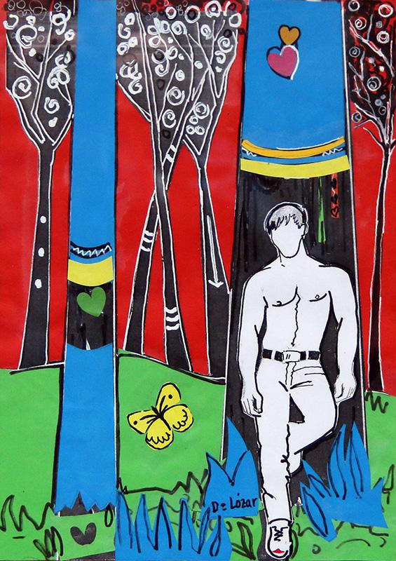 Eros en el bosque de Oma.