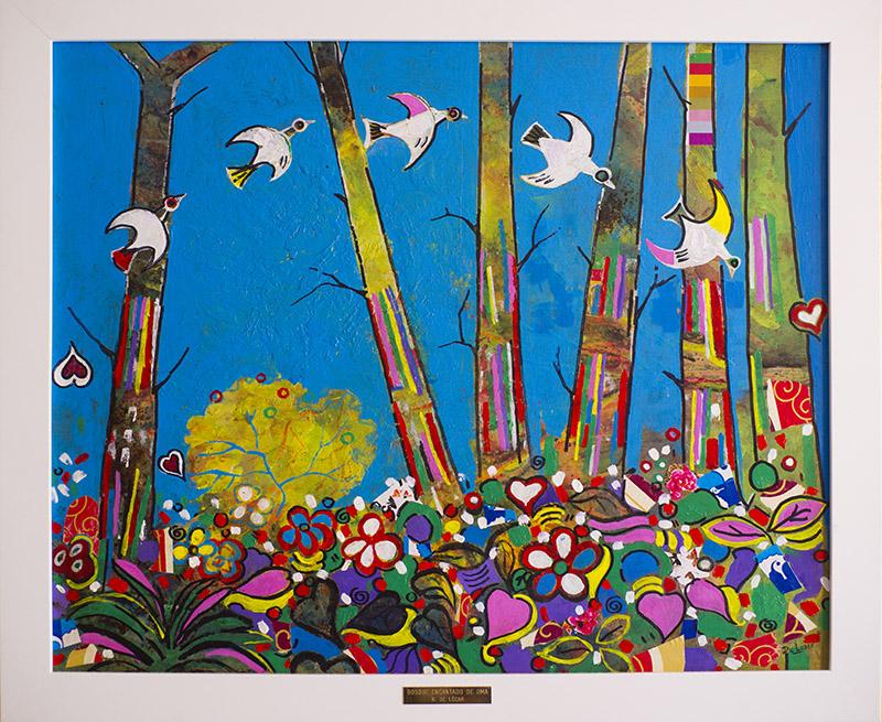 Homenaje a Ibarrola el bosque de Oma III (2014) - Ricardo De Lózar
