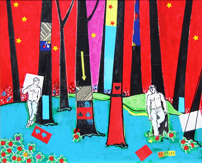 """Serie """"el bosque de Oma"""""""