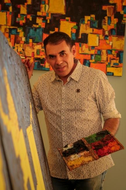 Luiz Bhittencourt artista plástico