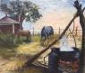 Amaneciendo Oleo espatulado sobre lienzo 60 x 70