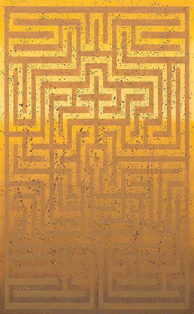 Laberintos perdidos V (Gante) (2010) - Guadalupe Luceño