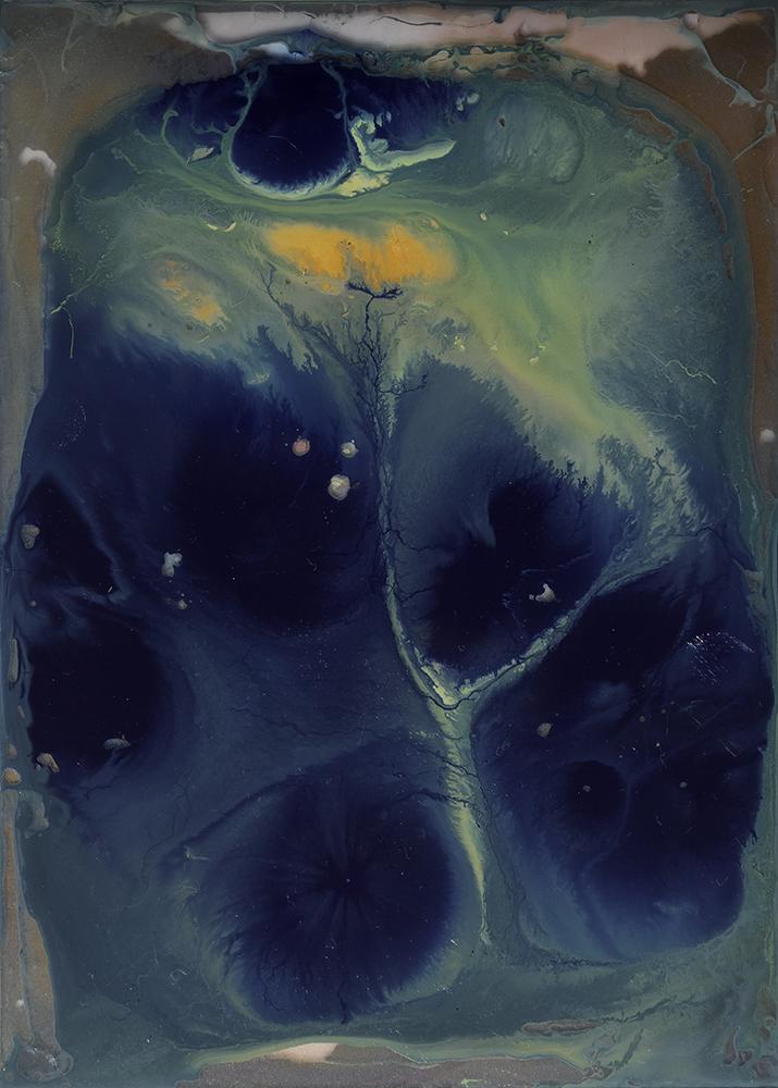 Cavernas marinas (serie Universos) (2019) - Guadalupe Luceño