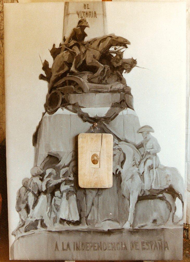 Tabla de picar carne (1990) - Pilar Lara