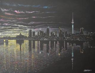 Homenaje a la Arquitectura: Reflejos de Auckland