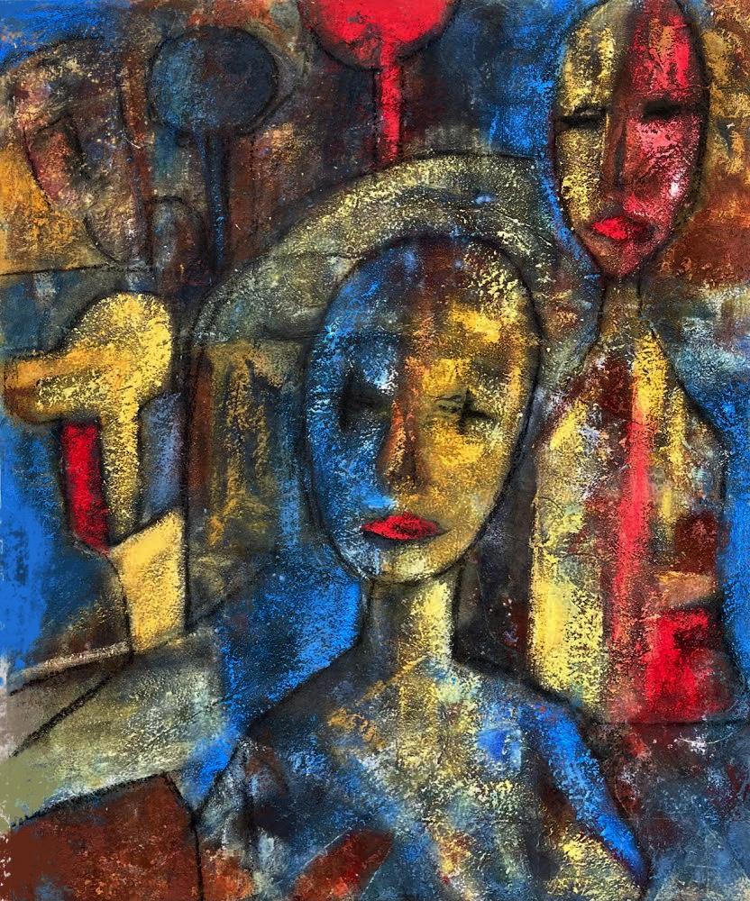 Dos cabezas (2020) - Soledad Fernandez Fernandez