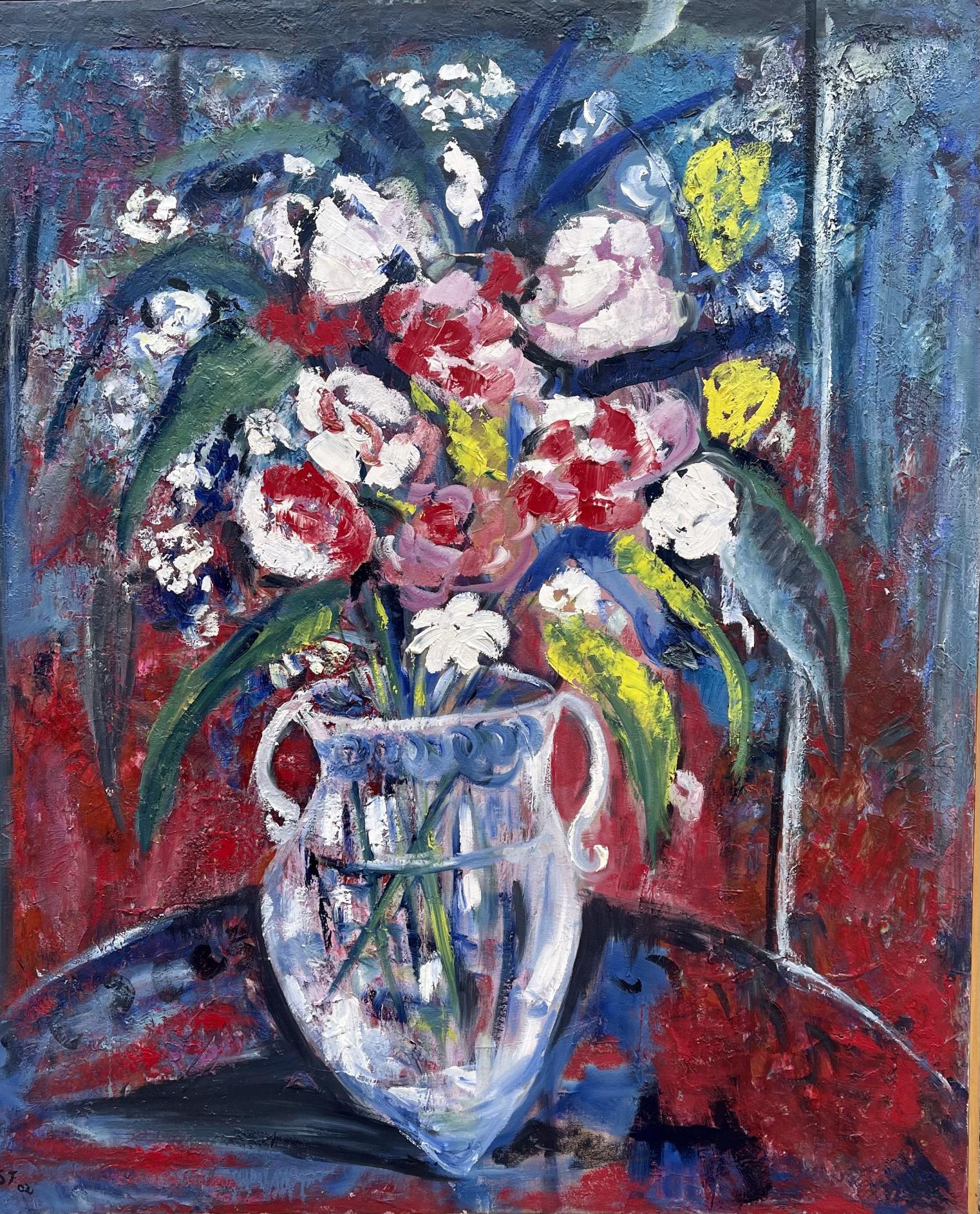 Jarrón con flores (2002) - Soledad Fernandez Fernandez