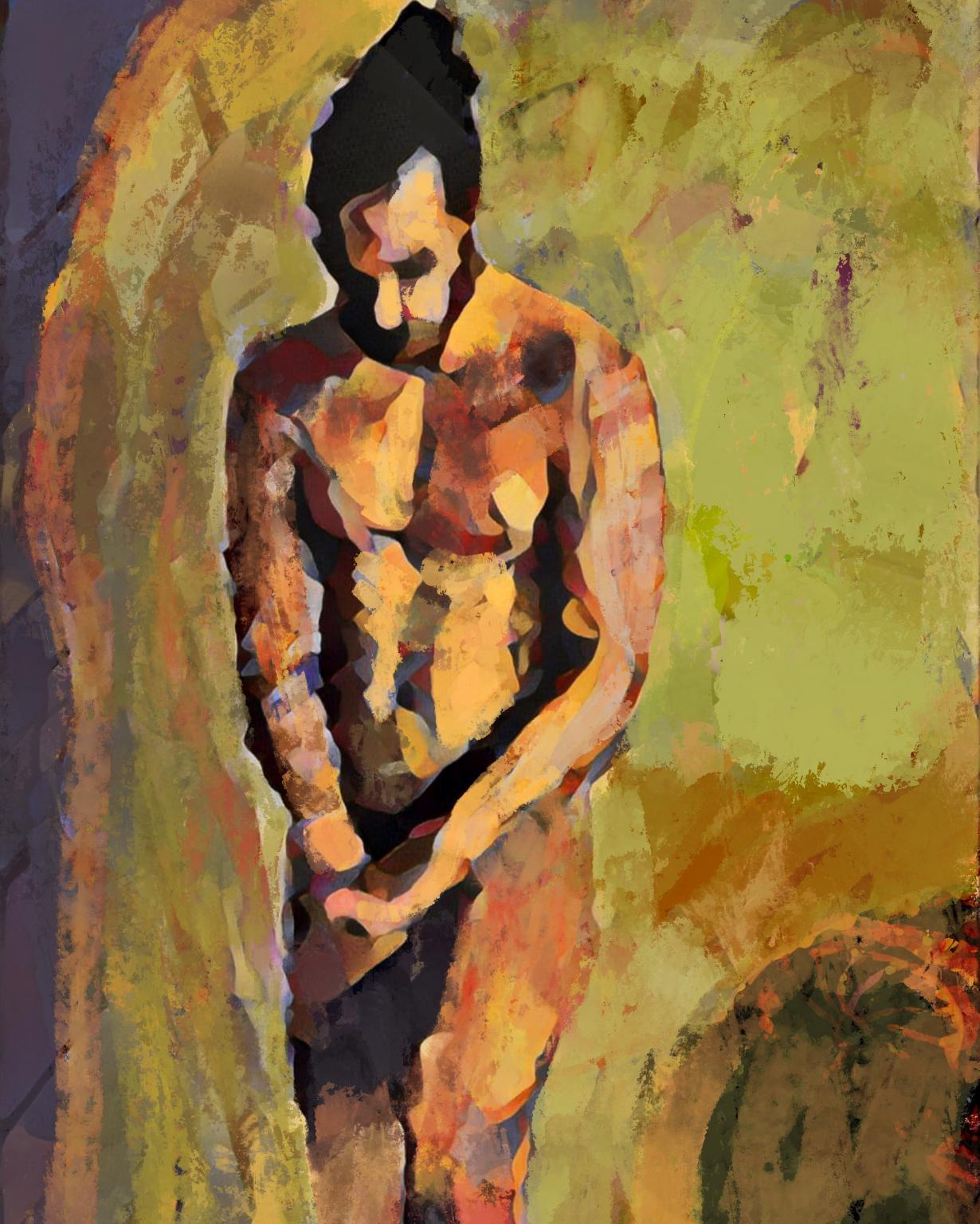 Hombre reflexivo (2020) - Soledad Fernandez Fernandez