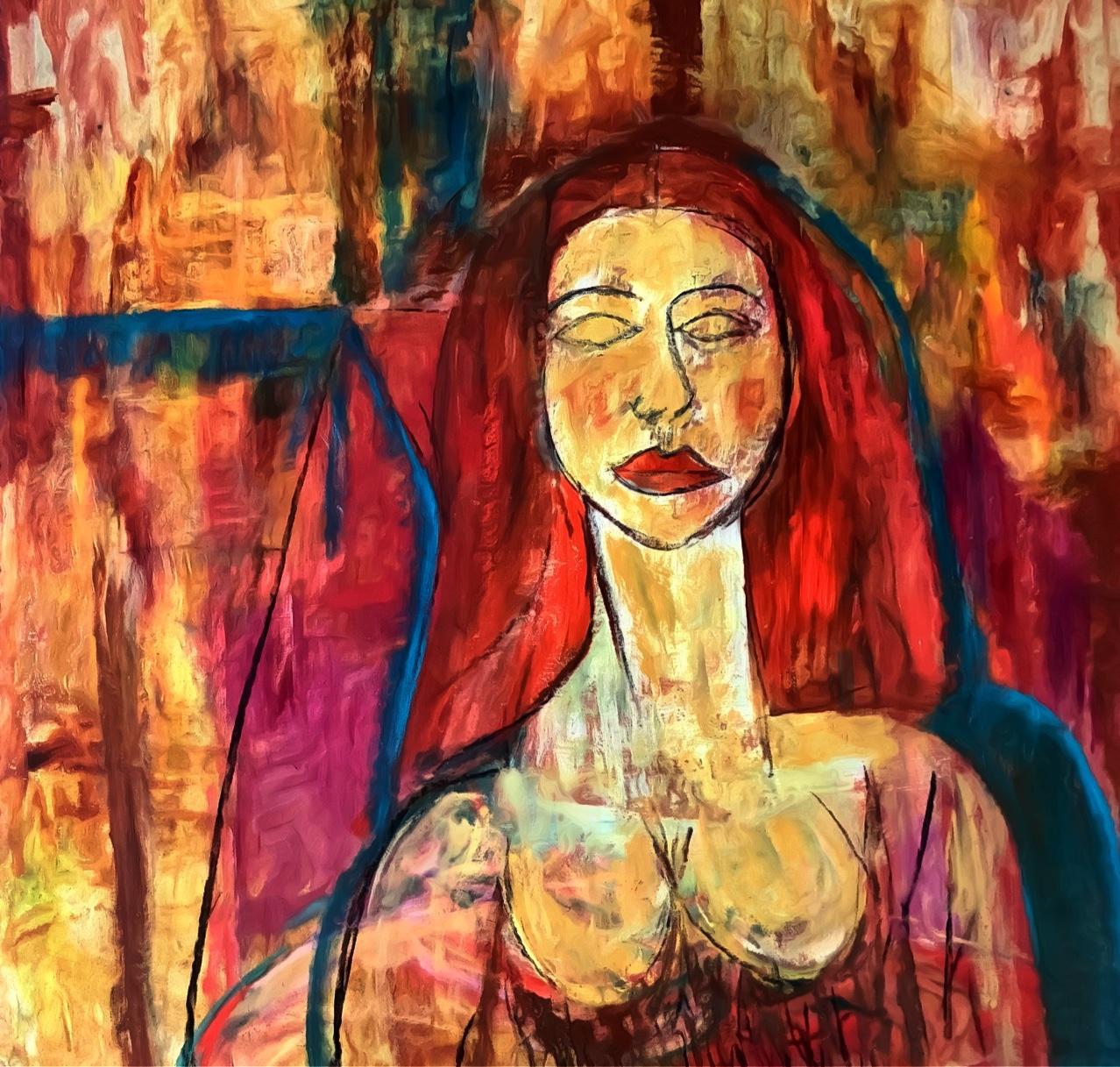 Mujer de pelo rojo (2021) - Soledad Fernandez Fernandez
