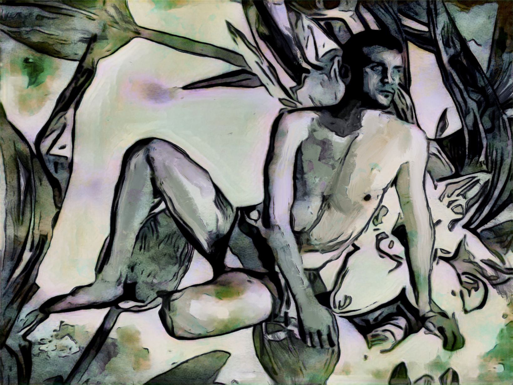 Hombre verde (2021) - Soledad Fernandez Fernandez