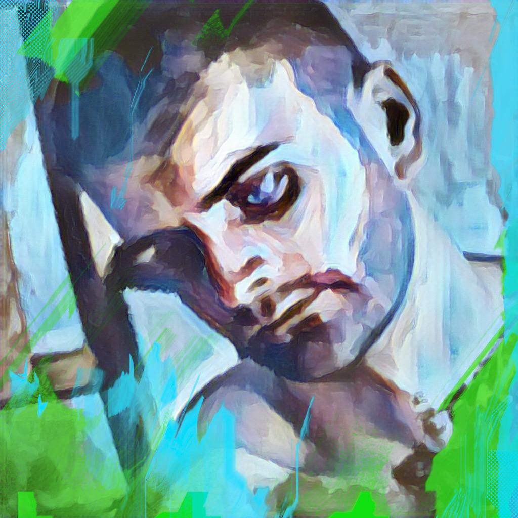 Retrato de hombre (2021) - Soledad Fernandez Fernandez