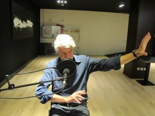 Chris Dercon explica a Ràdio Web Macba les transformacions dels museus. Cortesía del MACBA