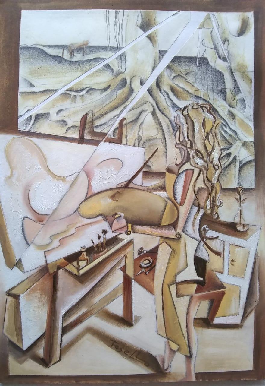 Autorretrato (2020) - Gabriela Tosello - Gaby Tosello