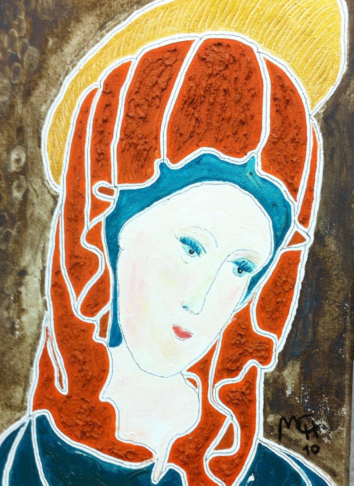 LA VIRGEN MARÍA (2008) - Mari Carmen Gómez-Herranz de Cavanna - MCH