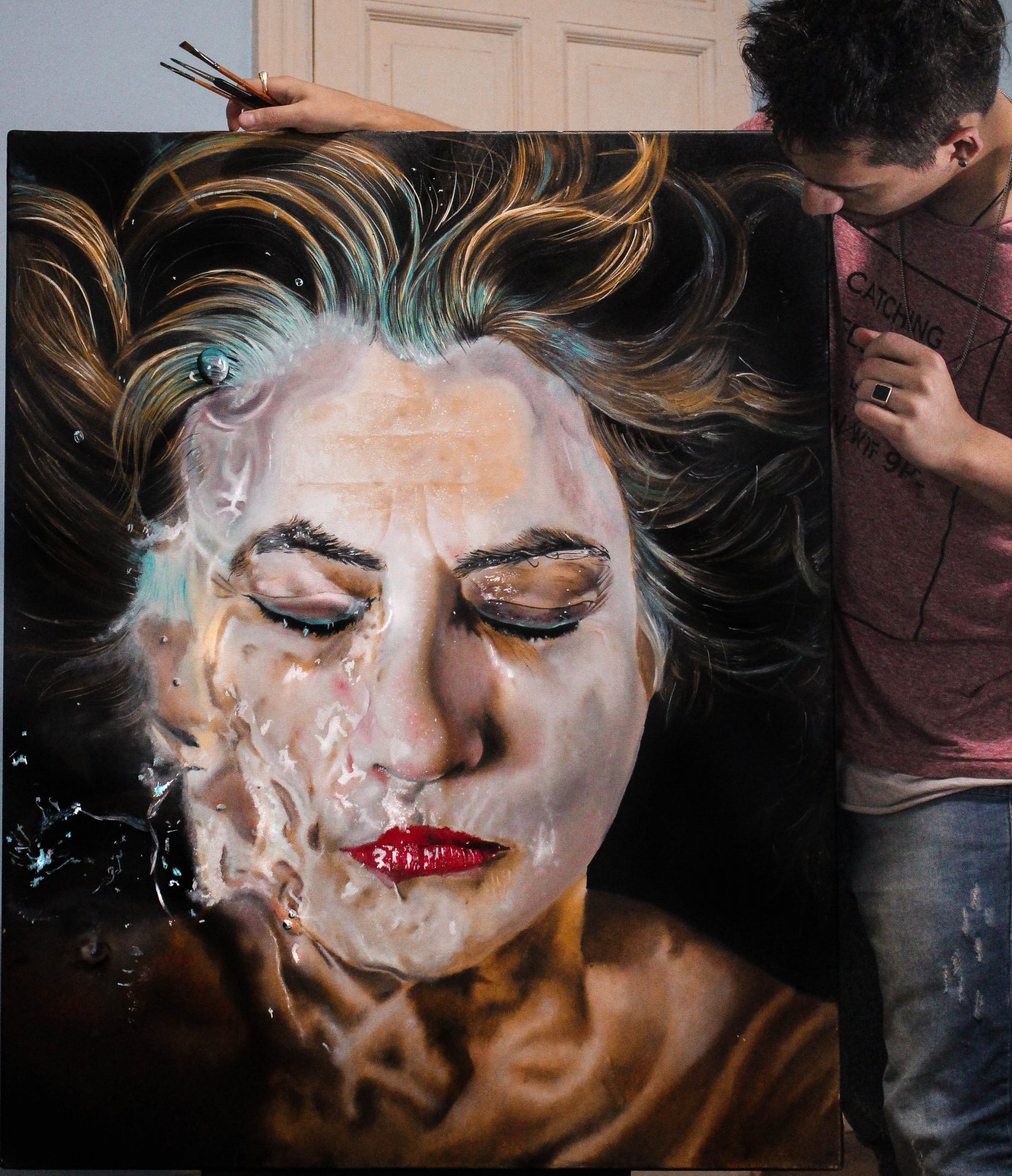 La dama en el agua (2017) - Pablo Quinteiro - Vq