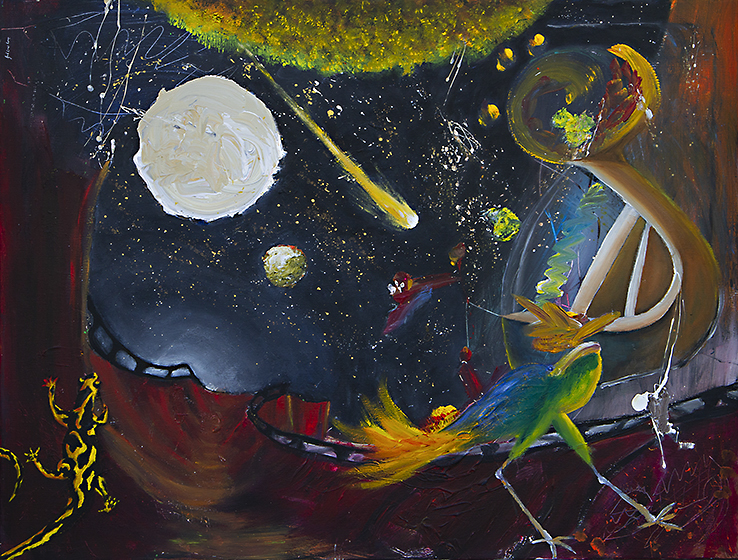 Galaxy Lion (2019) - Jaime Santullano - Frigola