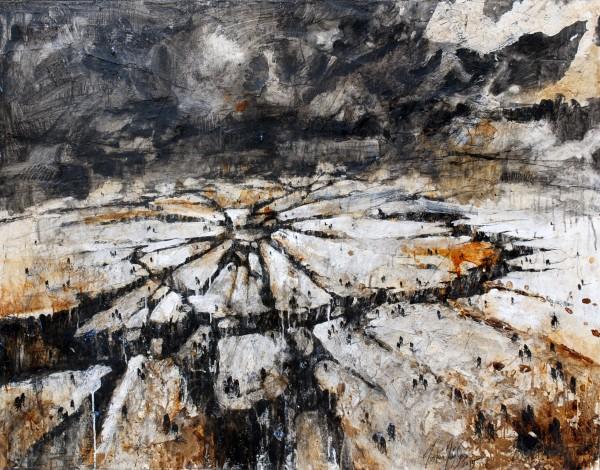 Apoteosis de una Humanidad / 90 x 130 cm / 2015