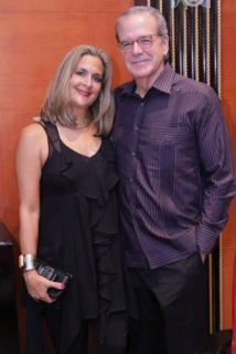 Elaine Shehab e Ignacio Cortez. Cortesía de Ocean Drive