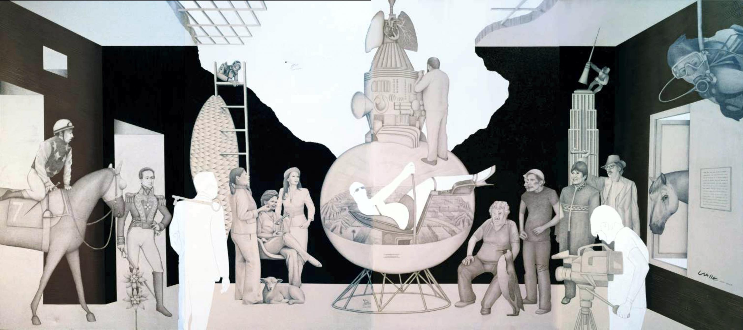 Presidentas y la máquina del tiempo (2014) - Andrés Ovalle