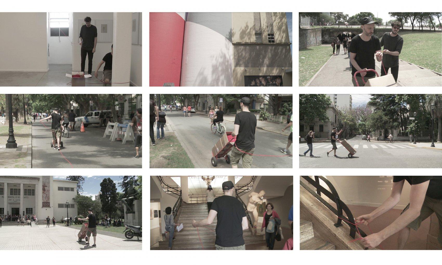 Ensayo geográfico o unión física (2018) - Camilo Guinot