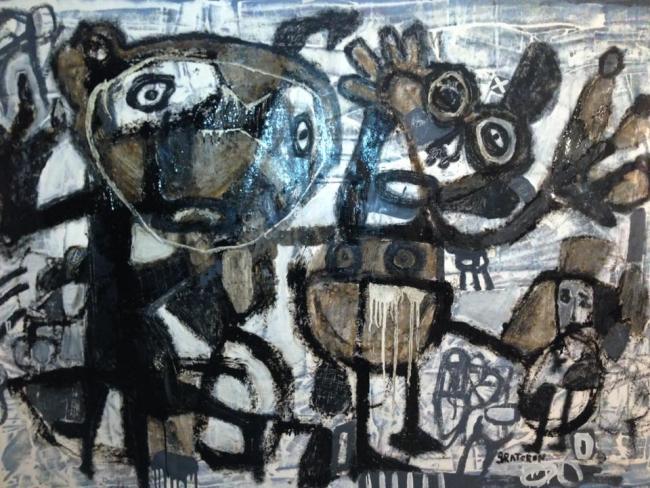 De la Serie Caracas Grafitti, 2017