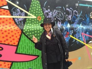 Pilar Forcada en una colaboración con la Fundación Autismo la Garriga. Cortesía de Greens Power Products, S.L.