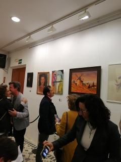Exposición individual  asa de la Cultura de Alcalá de Guadaira 2018