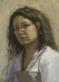 Autorretrato de Blanca Quintas