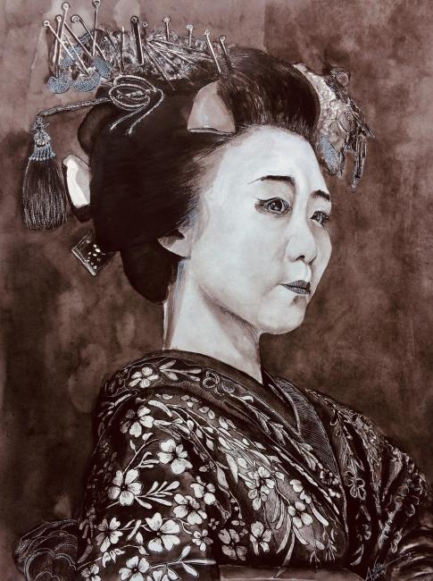 La madurez de una Geisha