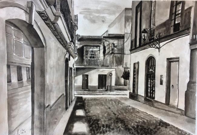 Calle Las Bodegas -Jerez