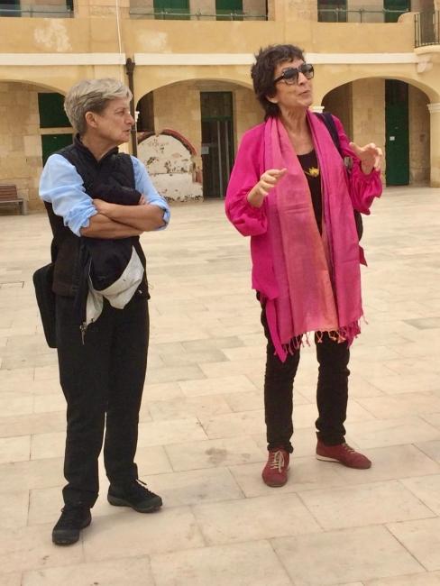 Judit Butler y Rosa Martinez, Valletta, Malta, 2018