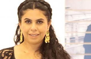 Manal AlDowayan. Cortesía de Sabrina Amrani