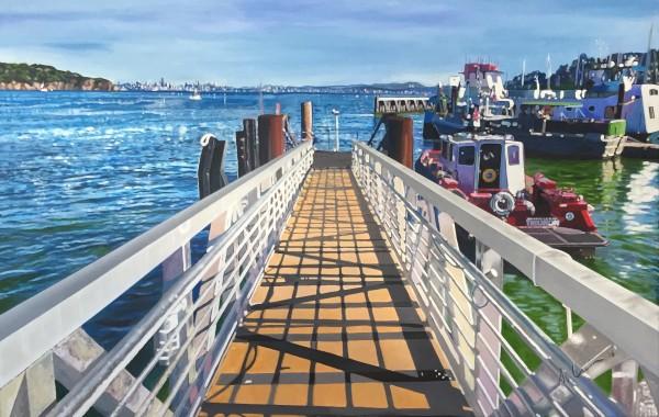 Muelle de Tiburon (San Francisco)