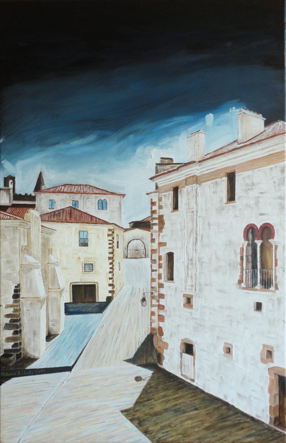 Vista do Pátio de S. Miguel - Évora (2017) - Helena Lobato