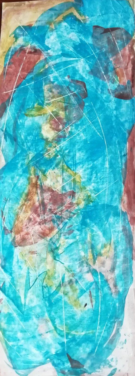 Ese azul (2018) - Yaneth Evangelina Avila Pinto