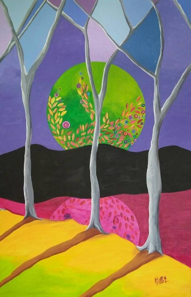 Reflejo de luna (2015) - Marisa Ulla